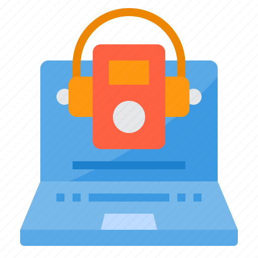 cloud, computer, music, online, security, server, technology icon