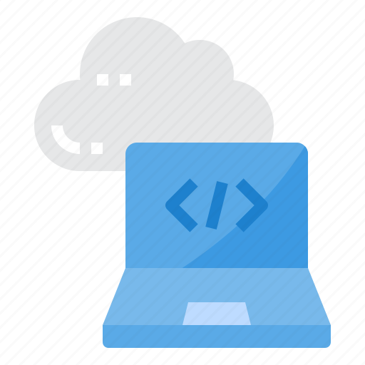 cloud, computer, programming, security, server, technology icon