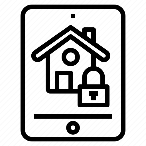 cloud, computer, home, security, server, smart, technology icon