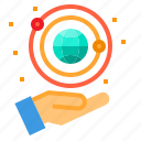 astronomy, education, learning, school, student, study icon