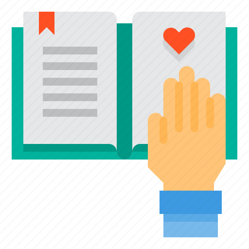 book, education, hand, learning, school, student, study icon