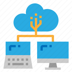 cloud, connection, data, network icon