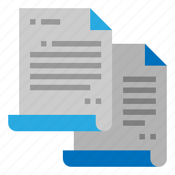 copy, document, duplicate, files icon
