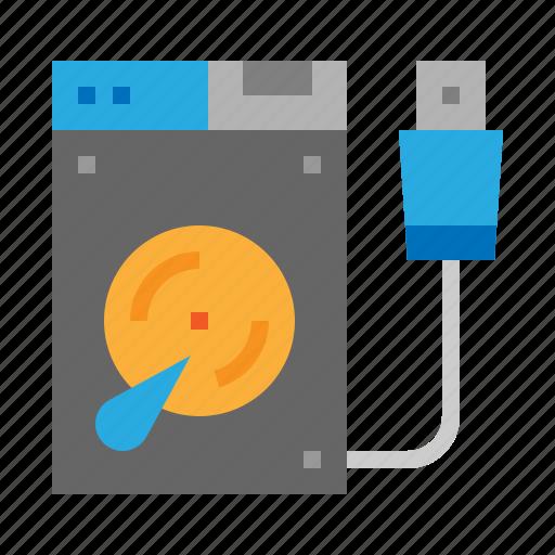 Disk, drive, external, hard icon - Download on Iconfinder
