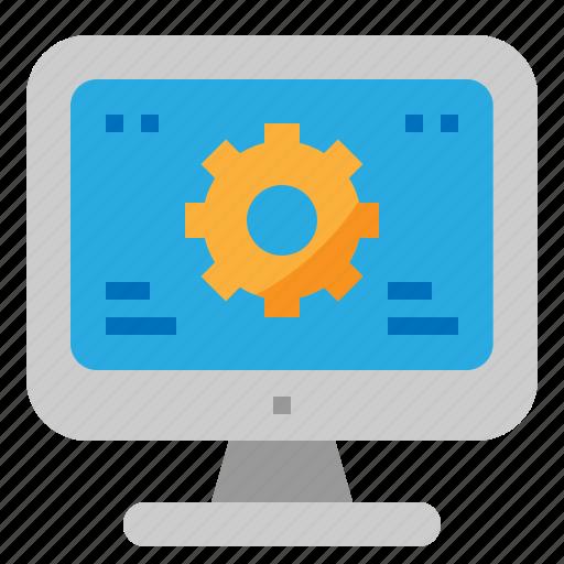 gear, maintenance, repair, service icon