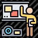 board, conference, equipment, presentation, projector