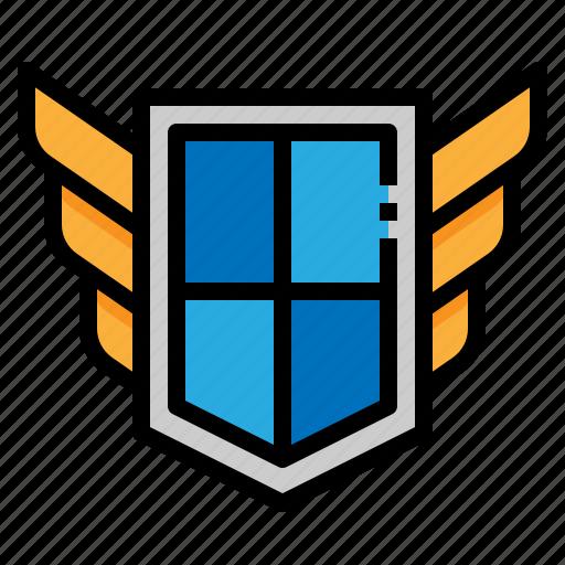 antivirus, block, protection, shield icon