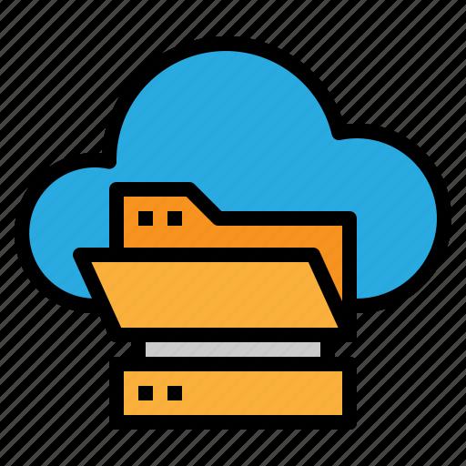 cloud, online, server, storage icon