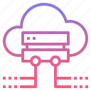 backup, cloud, data, server icon
