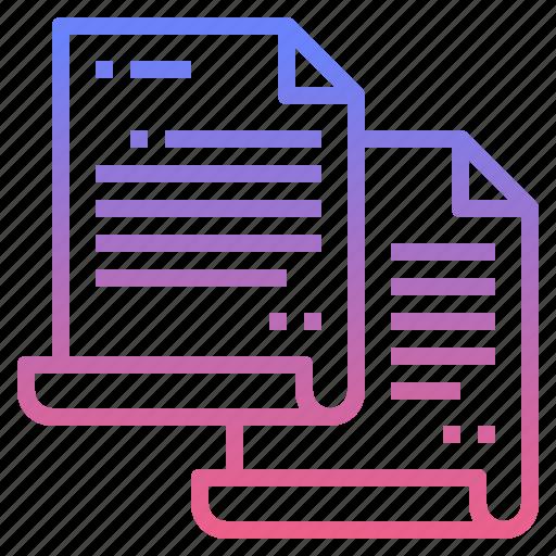 copy, document, duplicate, files icon