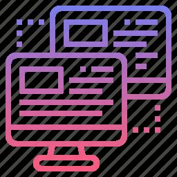 access, control, monitor, remote icon