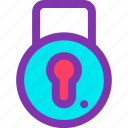 key, lock, pad, safe, security icon