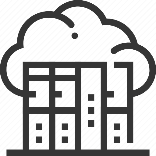 cloud, database, hosting, internet, server, service provider, share icon