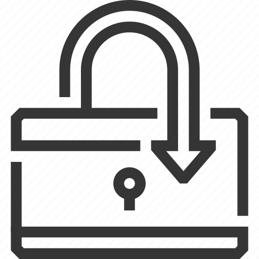 connect, internet, lock, padlock, protected connection, security, virus icon