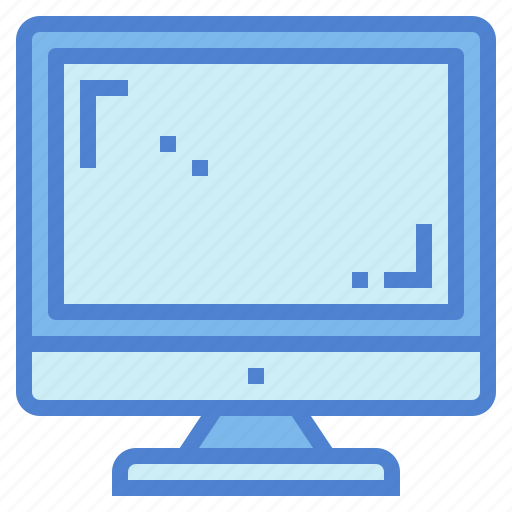 computer, monitor, screen, technology icon
