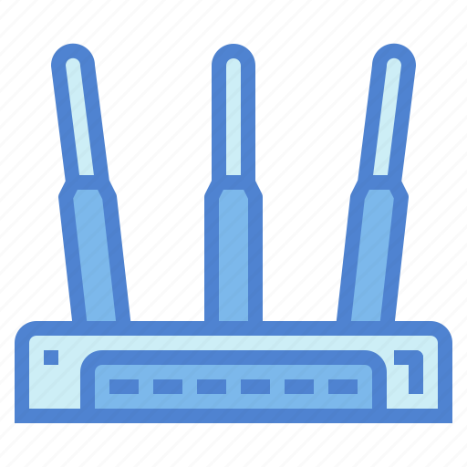 communications, modem, router, wireless icon