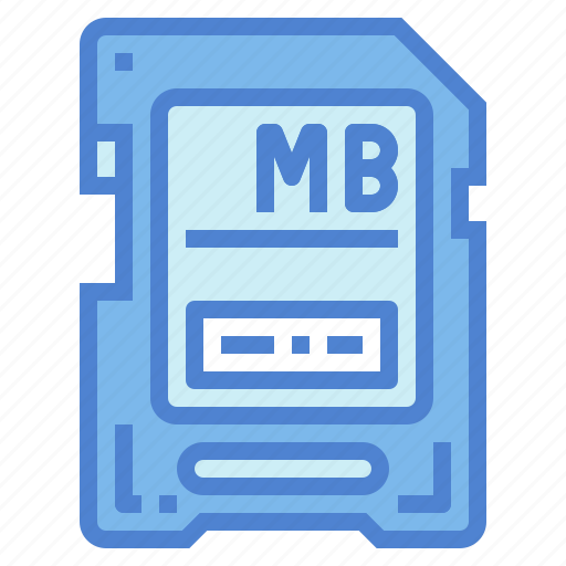 card, memory, sd, storage, technology icon