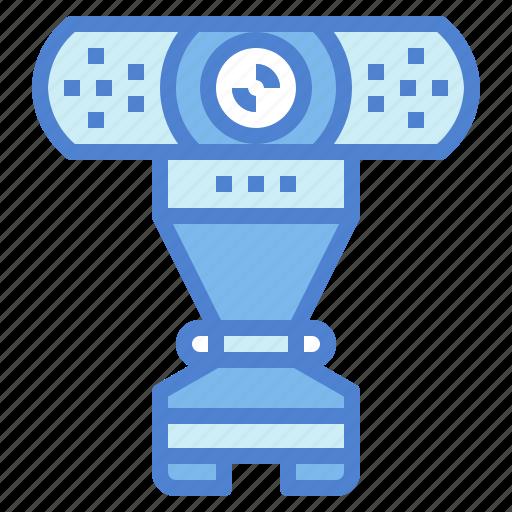 call, communications, electronics, video, webcam icon