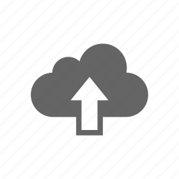 cloud, computer cloud, server, store, upload icon