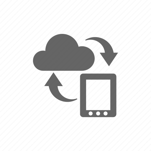 cloud, computer cloud, server, store, sync, synchronize, update icon