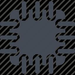 computing, data, network, storage icon