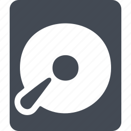 computing, disk, drive, storage icon