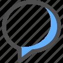 chat, communication, message, bubble, conversation, text
