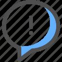 chat, alert, communication, message, bubble, conversation, text