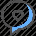 chat, love, communication, message, bubble, conversation, text