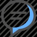 chat, message, communication, bubble, conversation, text