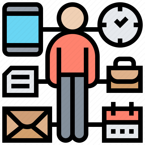 effective, management, organize, planning, time icon