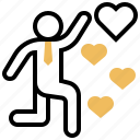 emotion, hearts, love, passion, preference icon