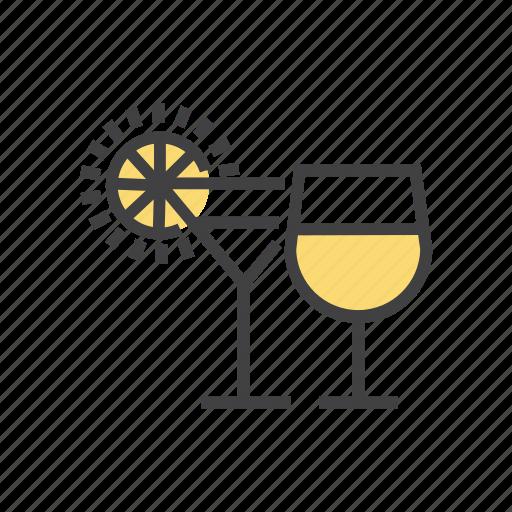 bar, beverage, drink, glass, wine icon