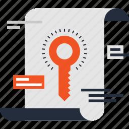 key, keyword, search, seo, text, web, word icon