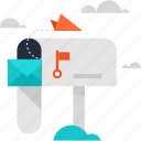 communication, email, inbox, mail, marketing, message, promotion icon