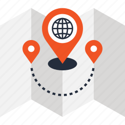 address, gps, location, map, marker, navigation, position icon