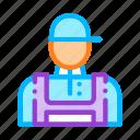conditioner, repairman, worker icon icon
