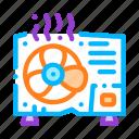 broken, conditioner, system icon