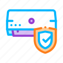 conditioner, safeguard, system icon icon