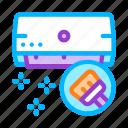 clean, conditioner, domestic icon icon