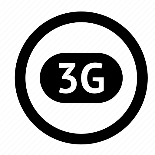 internet, label, mobile, round, technology icon