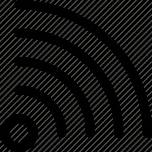 internet, network, rss, rss feed, wifi, wireless icon