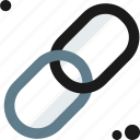 chain, connectivity icon