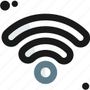 connection, connectivity, internet, network, online, wifi, wireless icon