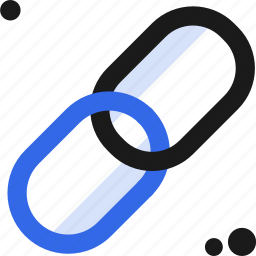 chain, connectivity, link icon