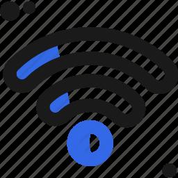 connectivity, signal, wifi icon