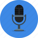 mic, recoder, record, recorder, recording, voice icon