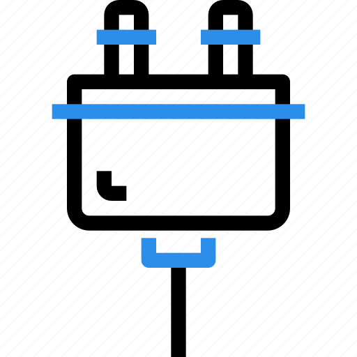 adapter, cable, computer, connector, device, hardware, plug icon