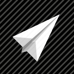 color, paper, paper plane, plane icon