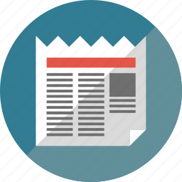 news, news paper, paper icon